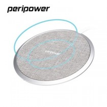 【Peripower】PS-T06鋁合金織布充電盤 -灰色