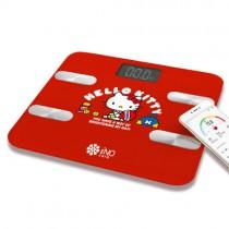 【iNO】CB760 藍牙體重計_Hello Kitty-紅色